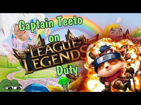 Captain Teeto on Duty