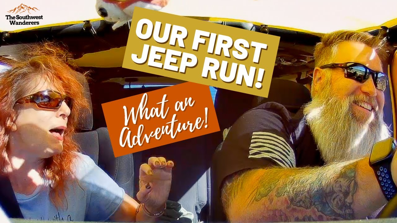 Our first Jeep run was an adventure!