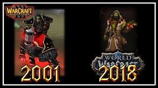Evolution of Thrall│Lore, Model and Personality│World of Warcraft