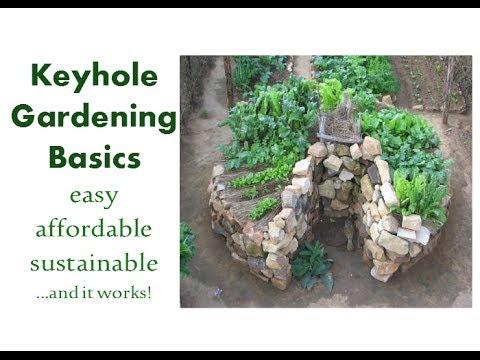 Keyhole Gardening Basics: Easy, Affordable, Sustainable... and it ...