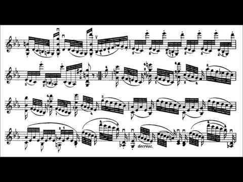 Niccolò Paganini - Caprice for Solo Violin, Op. 1 No. 23 (Sheet Music)