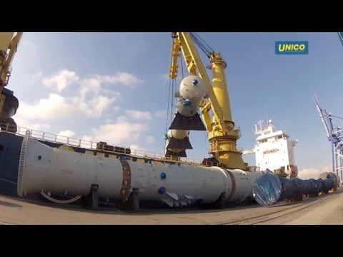 UNICO Project cargo handling in Istanbul, Turkey Part2