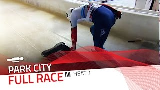 Park City | BMW IBSF World Cup 2015/2016 - Men's Skeleton Heat 1 | IBSF Official