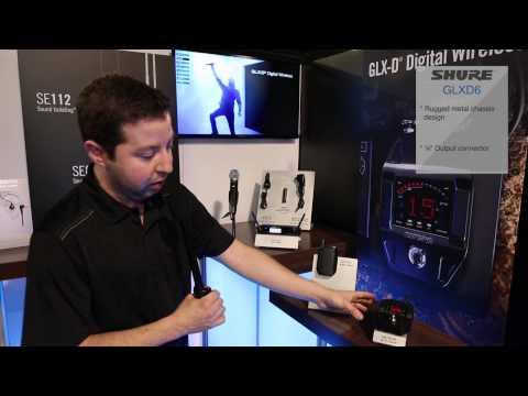 Shure GLX-D Series - NAMM 2014