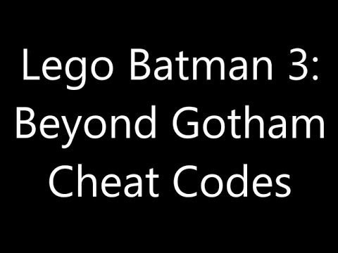 lego batman 3 cheat codes xbox one