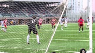董之英vs香港國際 2012學界足球精英賽半準決賽 全塲精華
