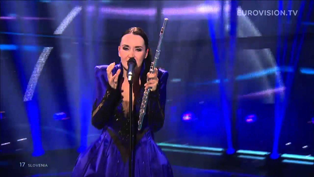 Eurovision Live: Round And Round (Slovenia) LIVE Eurovision