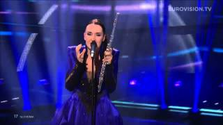 Tinkara Kovač - Round and round (Slovenia) LIVE Eurovision Song Contest 2014 Grand Final