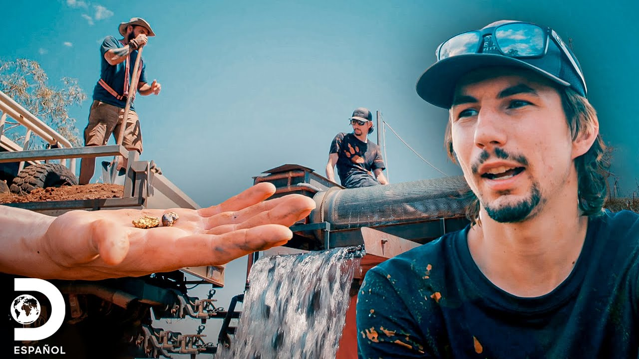 Parker se lastima en plena faena | Fiebre del Oro: El desafío de Parker | Discovery En Español