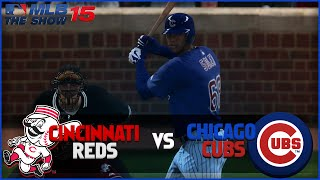 MLB 15 The Show Chicago Cubs Franchise- Extra Innings Thriller vs Cincinnati Reds