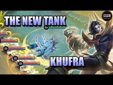 KHUFRA NEW HERO IN MOBILE LEGENDS