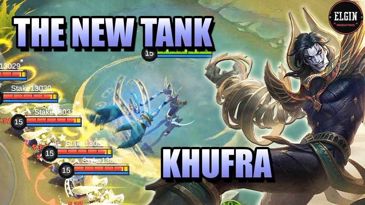 KHUFRA NEW HERO IN MOBILE LEGENDS CROWD CONTROL TANK