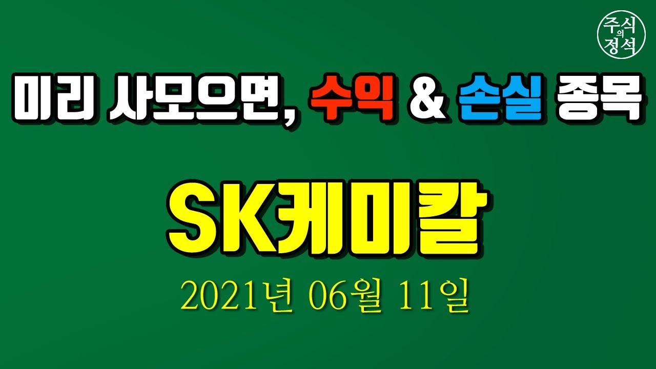 [SK케미칼] 종목분석 2021년 06월 11일