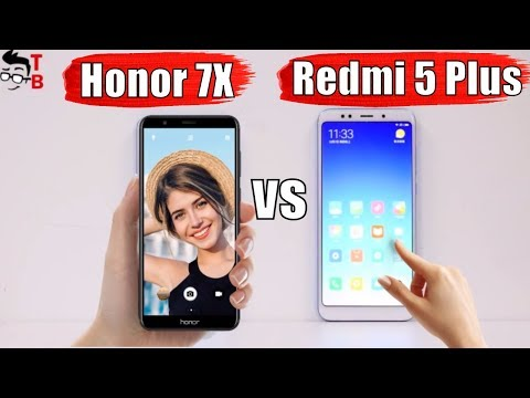 Xiaomi Redmi 5 Plus vs Honor 7X: Compare Best Mid-Range Phones 2017