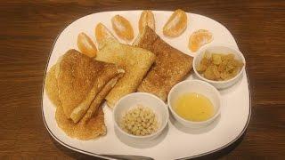 Полезные блинчики на завтрак/Здоровое питание/ПП рецепты