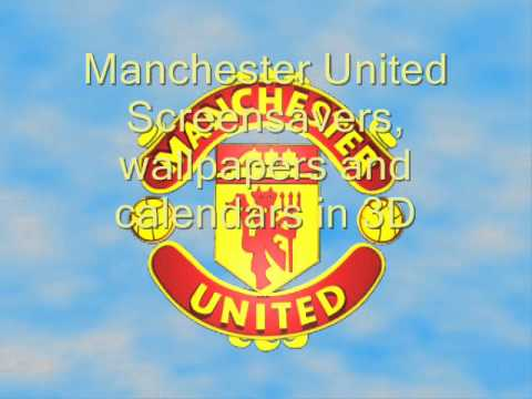 Manchester United Logo Wallpaper 3d Manchester United Hymn Screensavers Wallpapers And