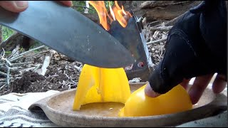 KUKRI COOKING Beef & Chicken Fajitas on Emberlit Stove & Cast Iron