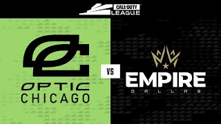 @OpTic Chicago vs @Dallas Empire | Stage II Week 3 - LA Guerrillas Home Series | Day 4