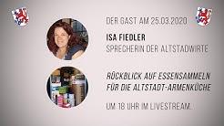 Gast:  Isa Fiedler - Sprecherin der Altstadtwirte - Corona - Düsseldorf hält zusammen