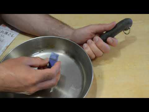 Daiso Cleaning Eraser Kitchen Pan Scrub Review