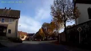 D: Oberbibrach. Gemeinde Vorbach. Landkreis Neustadt an der Waldnaab. Ortsdurchfahrt. Oktober 2014