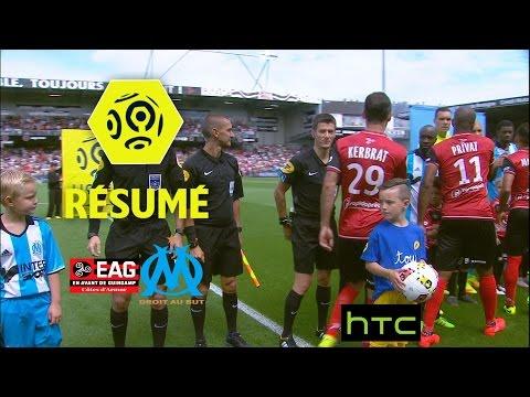 EA Guingamp - Olympique de Marseille (2-1)  - Résumé - (EAG - OM) / 2016-17