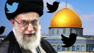 Iran's Khamenei Blasts Israel on Twitter
