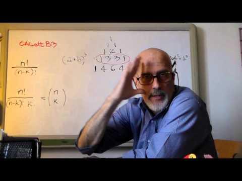 STATdueD4 - Probabilita': Combinazioni e Coeff.Binomiali
