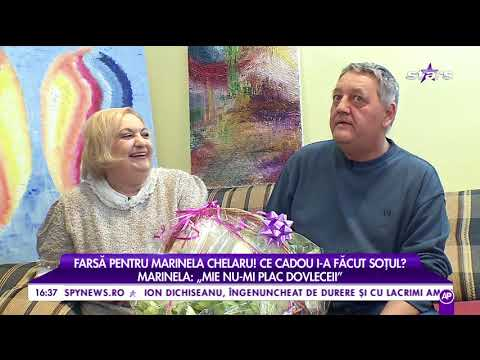 """Marinela Chelaru: """"Este o iubire foarte mare între mine și soțul meu"""""""