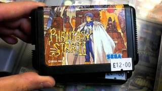 Recently imported Jap Mega Drive games