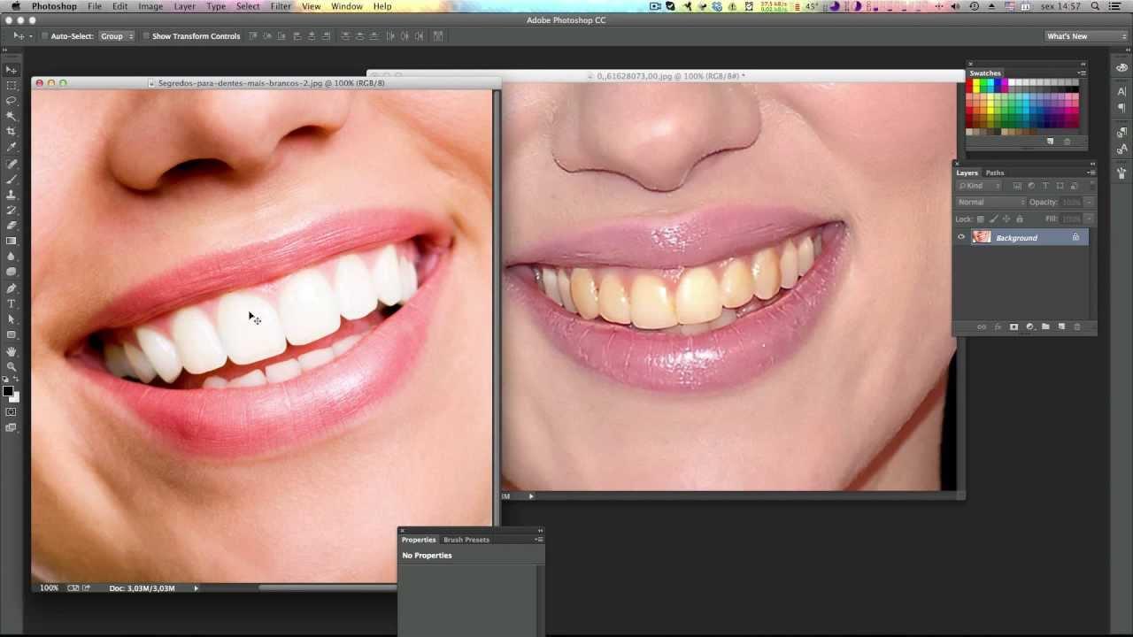 Como Clarear Os Dentes No Photoshop Metodo Profissional Tutorial