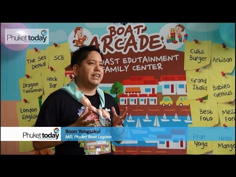 Phuket Boat Lagoon launches Boat Arcade edutainment mall
