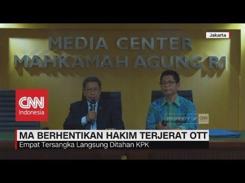 MA Berhentikan Hakim PN Jaksel yang Terjerat OTT KPK