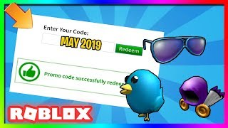 *MAY 2019* NEW PROMO CODES IN ROBLOX!
