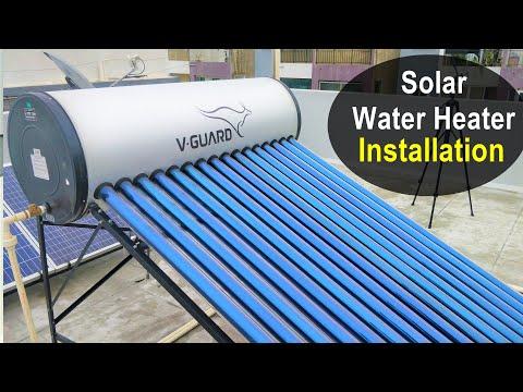 Solar Water Heater Installation - 200 Liters