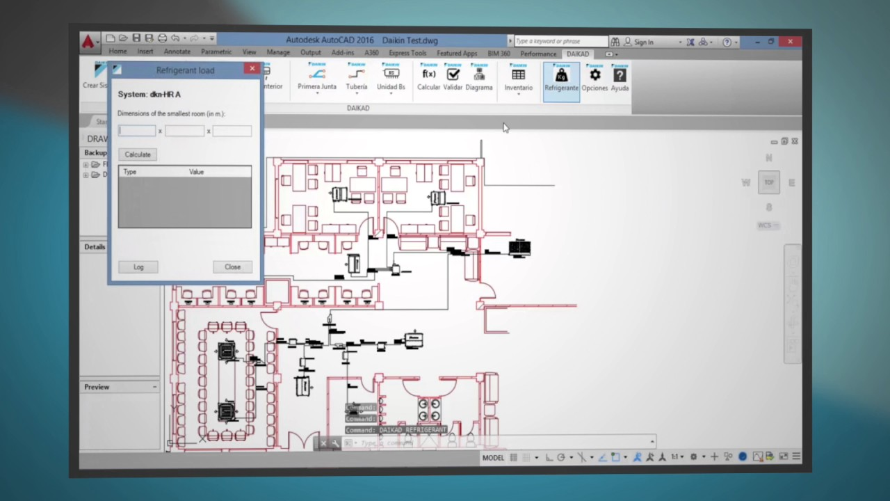 Daikin Software: VRVCad 2D