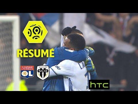 Olympique Lyonnais - Angers SCO (2-0)  - Résumé - (OL - SCO) / 2016-17