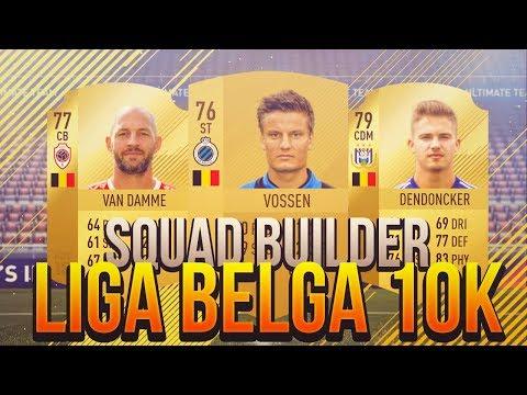 FIFA 18   Squad Builder - Liga Belga 10k   Ultimate Team