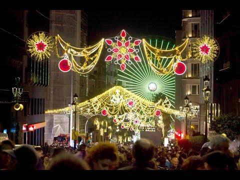 Encendido de las luces de Navidad en Vigo