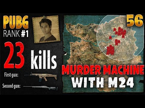 PUBG Rank 1 - Anthony 23 kills SOLO - PLAYERUNKNOWN'S BATTLEGROUNDS #56
