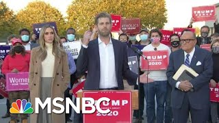 After Trump Lost Election, See How He's Losing In Court | The Beat With Ari Melber | MSNBC
