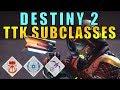 Destiny 2: TTK Subclasses Returning? All New Subclasses? | New Info!