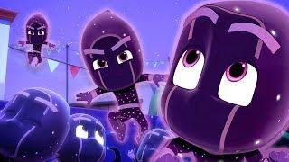Night Ninja Chase! | Ninjalinos Special | PJ Masks Official