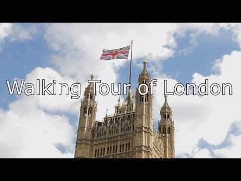 Walking Tour of London with map
