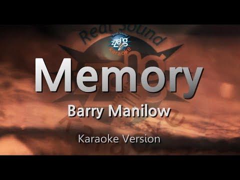 Barry Manilow-Memory (Melody) (Karaoke Version) [ZZang KARAOKE]
