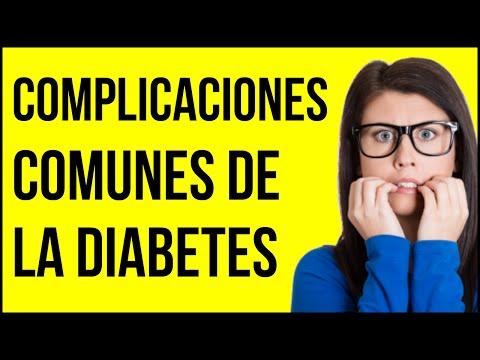 Las 5 Complicaciones mas comunes de la Diabetes - IMPORTANTES!