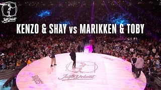 Hip Hop battle : Kenzo & Shay  vs Marikken & Toby