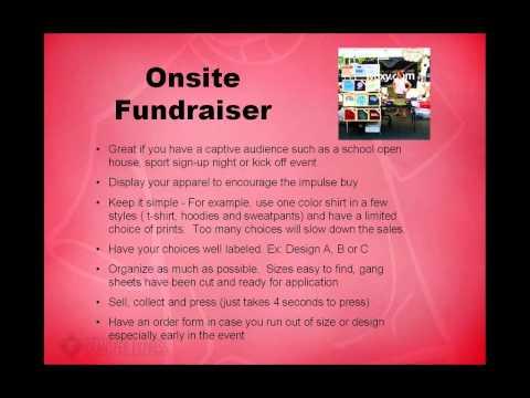 Fundraising Ideas Using Custom Transfers