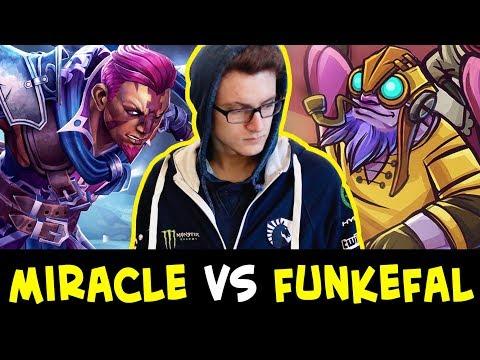 Miracle vs Funkefal — BEST Anti-Mage vs BEST Tinker