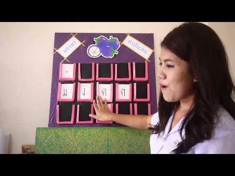 สื่อการสอน วิชาภาษาไทย